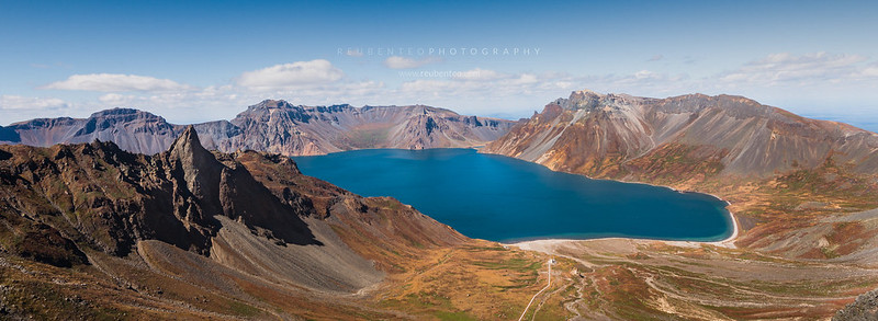 Mount Paektu at Samjiyon