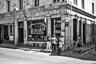 Ghost in the old Montreal