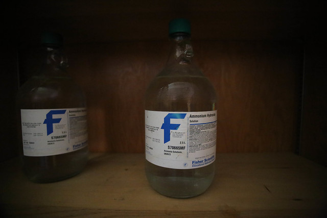 Header of Ammonium hydroxide