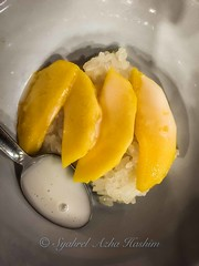 Mangoes with Sticky Rice...