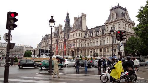 Hôtel de Ville. Paris. France