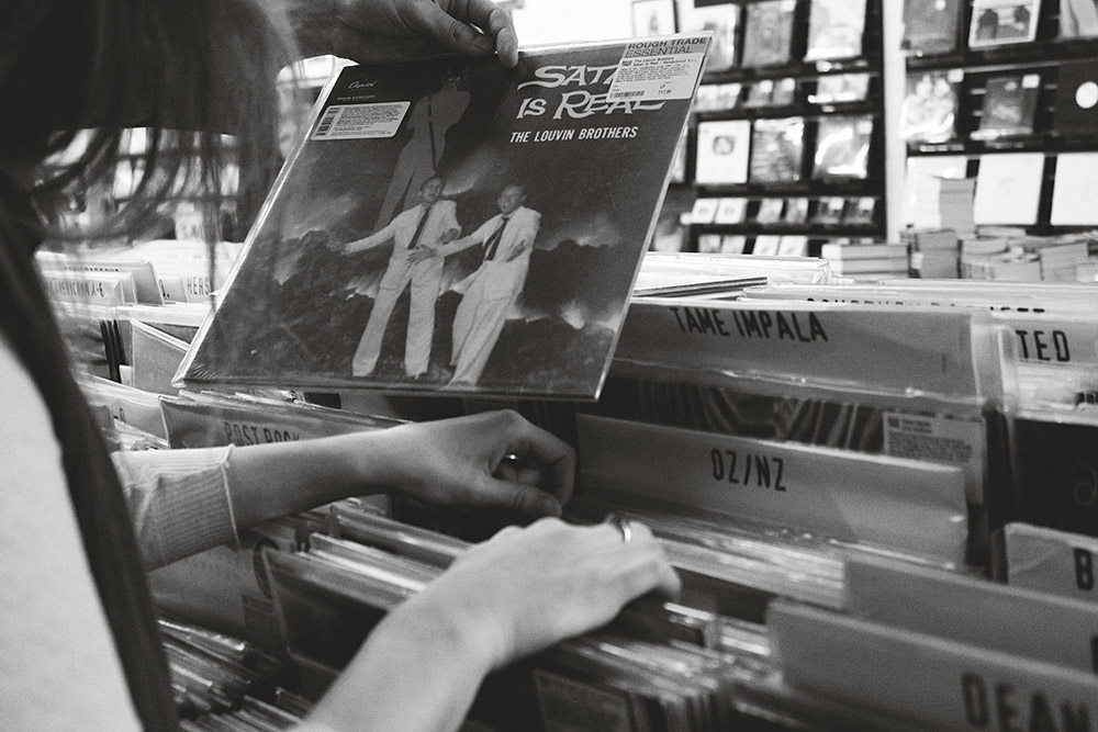 Record Shopping with Aldous Harding