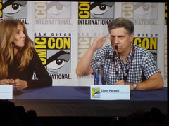 Sarah Chalke and Chris Parnell