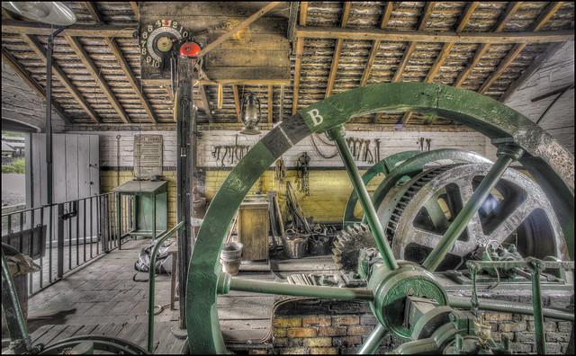 Ironbridge Mine Winch