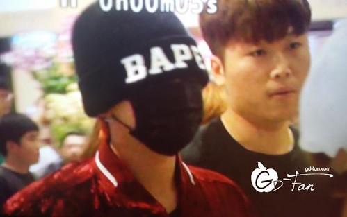 Big Bang - Incheon Airport - 26jul2015 - GD Fan - 02