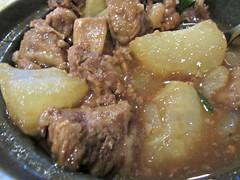 Beef Tendon Stew with Daikon Radish