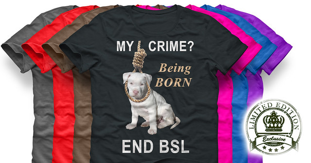 Being one of the Pit Bull breeds is not a crime, end bsl