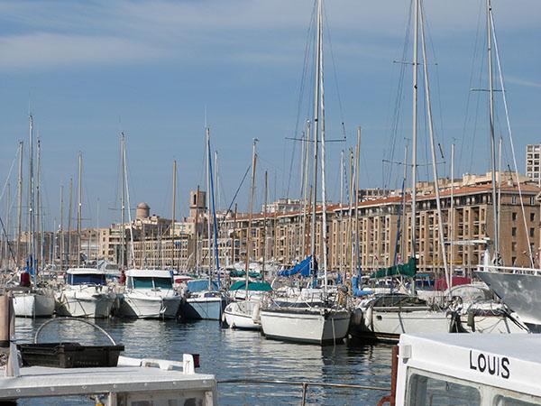 les mâts du Vieux Port