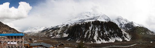 Annapurna III panorama