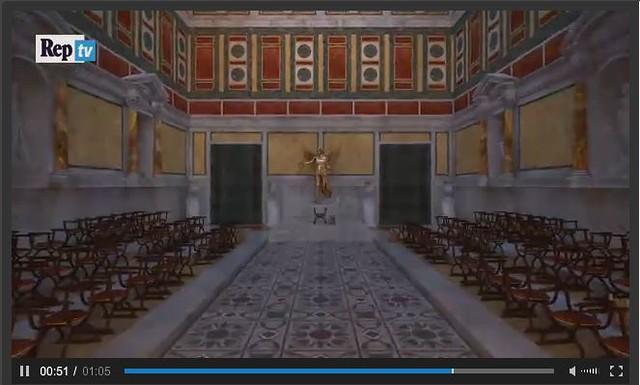 ROMA ARCHEOLOGICA & RESTAURO ARCHITETTURA. ROMA - I FORI IMPERIALI: Quattro passi nei Fori imperiali, LA REPUBBLICA (25|04|2015) [VIDEO | 01:05].