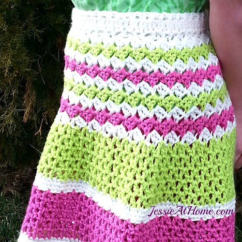 Daisy ~ Free Crochet Skirt Pattern Jessie At Home