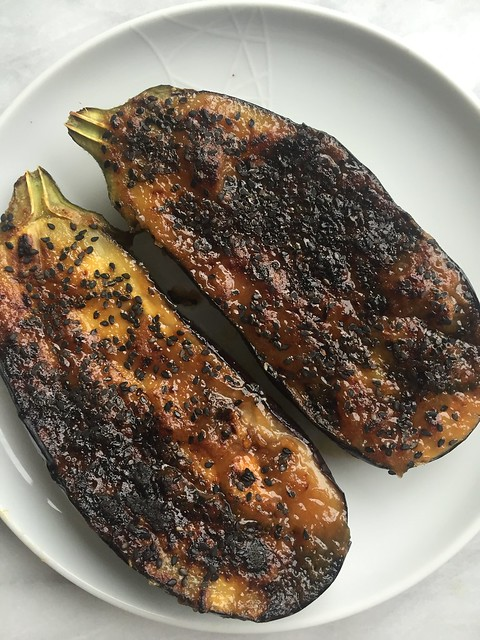 Miso glazed eggplant on twothirtyate.com