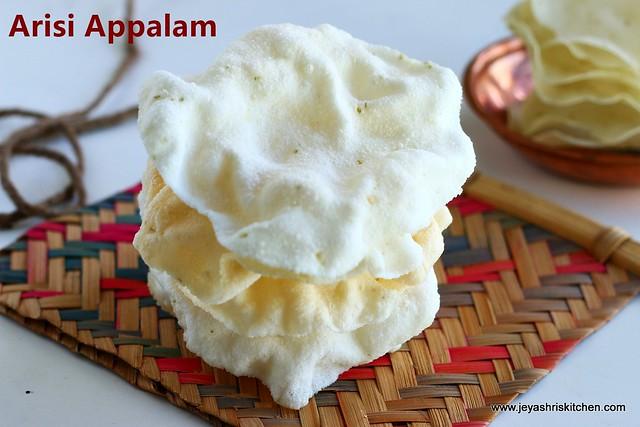 Rice-papad