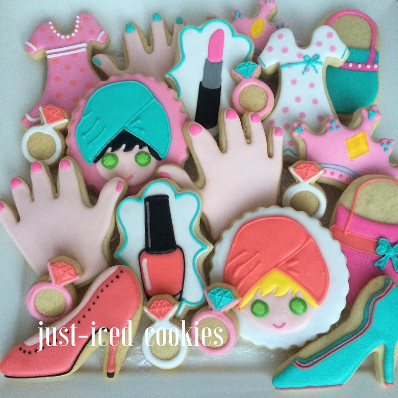 Beauty/Spa Cookies