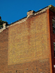 Faded Ghost Sign, Baltimore, MD