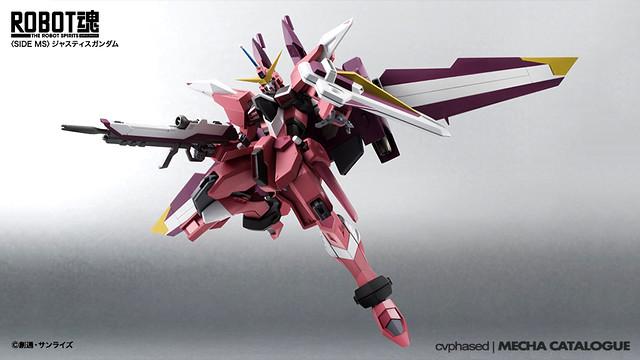 ROBOT Damashii <Side MS> Justice Gundam