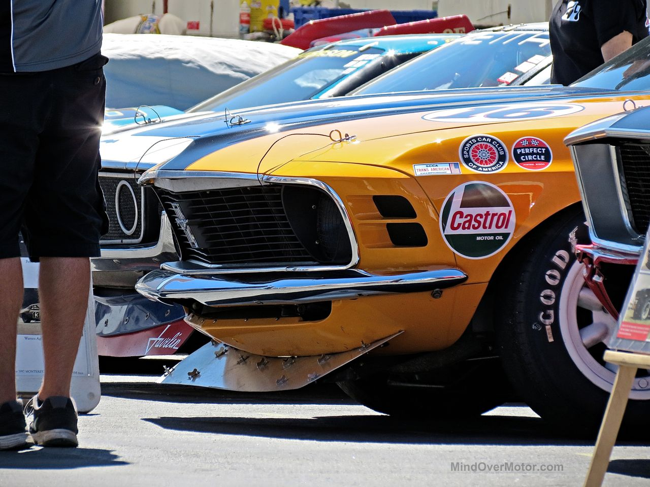 Ford Mustand Boss 302 Race Car Laguna Seca