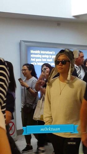 BIGBANG Arrival Melbourne 2015-10-20 (7)