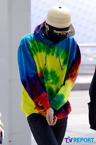GD Incheon Airport Seoul on the way to LA 18 04 2014 (4)