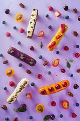 Sweet patterns: eclair