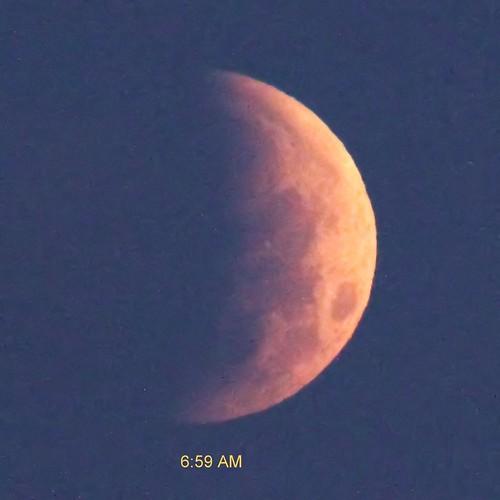 Lunar Eclipse 0659 AM EDT -20150404