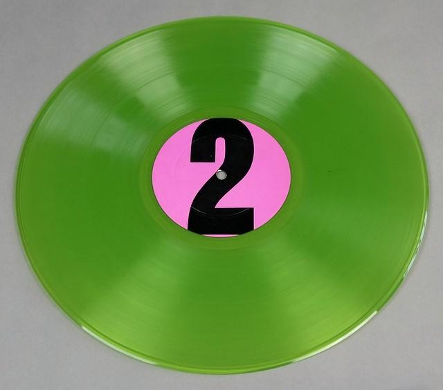 "FRANK ZAPPA & MOTHERS OF INVENTION 200 MOTELS LIVE TMOQ GREEN VINYL 12"" LP VINYL"