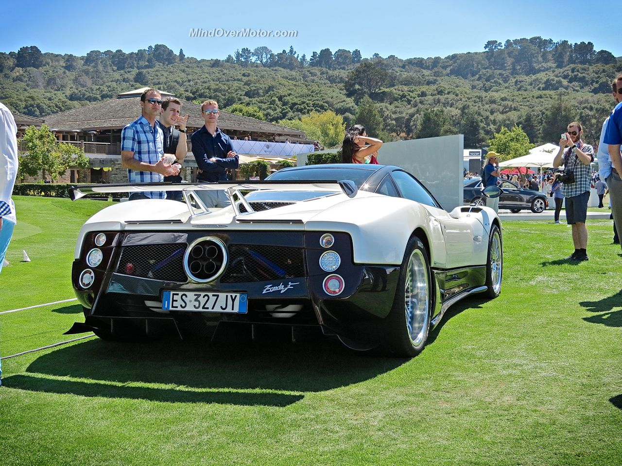 Pagani Zonda F Rear End at Monterey Car Week
