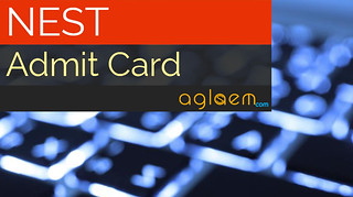 NEST Admit Card 2015