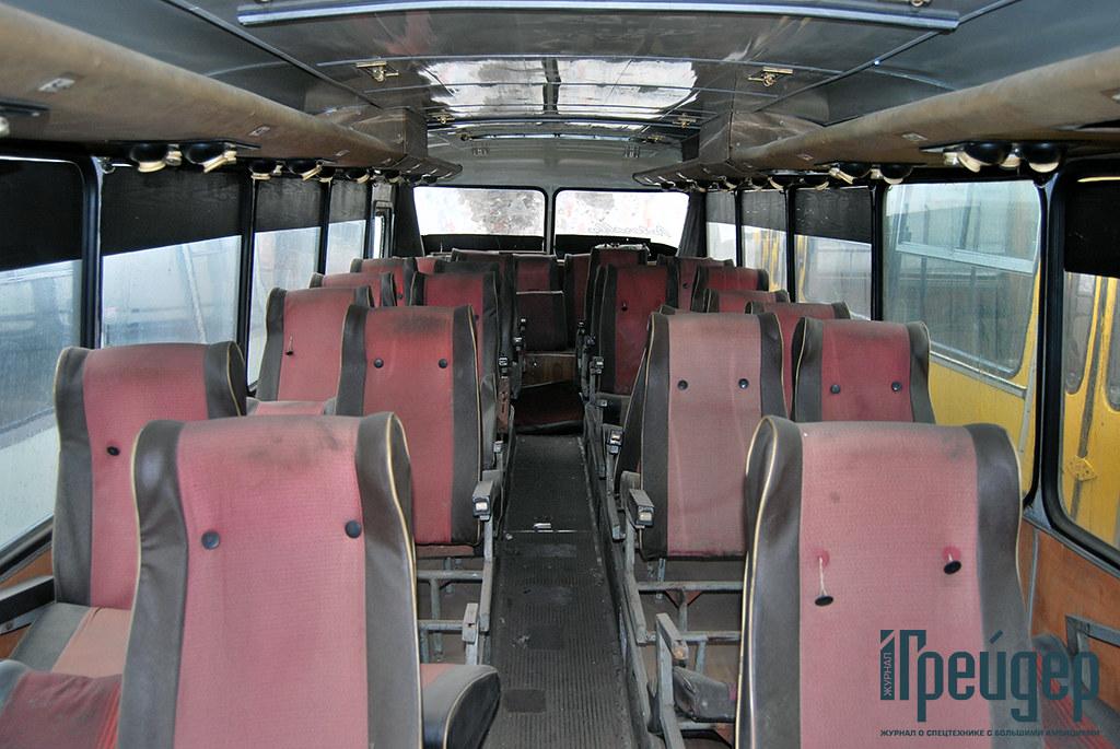 салон ЛАЗ-699Р
