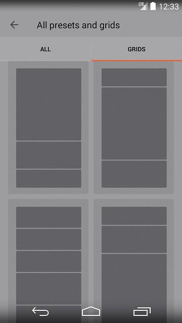 YotaPhone 2 - YotaPanel Grids