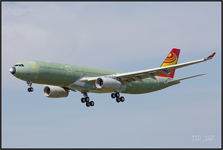 A330-343 Hainan Airlines  F-WWYL  /  3400