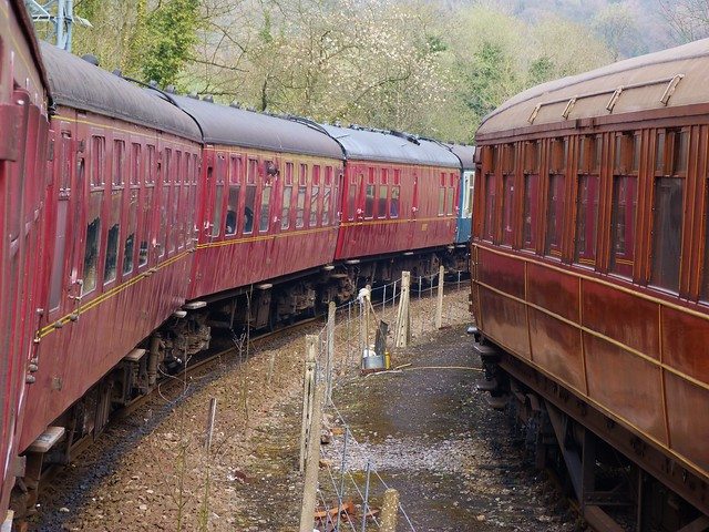 Trenes de North Yorkshire Moors Railway