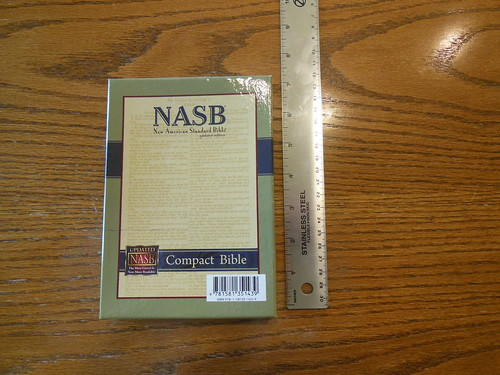 Need A Complete Bible In A Handy Size To Slide Into A Pocket The Nasb Compact Bible In Black Bonded Leather With A Snap Flap Fills The Niche At A Great Value