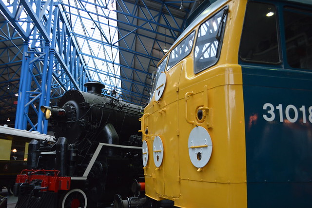This is a photo of the National Railway Museum York