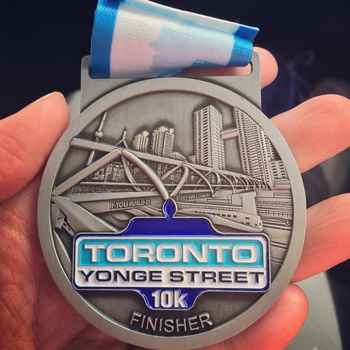 #TYS10k 2015 medal