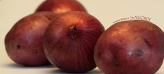 Red Onions and Red Potatoes