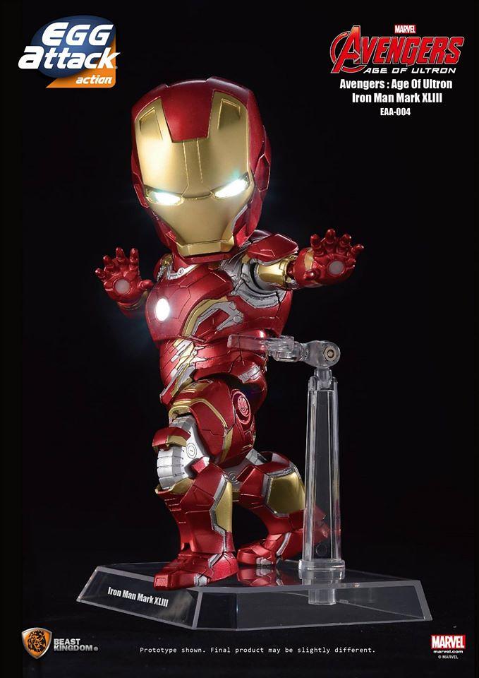 [Egg Attack] Action – Avengers: Age of Ultron Iron Man Mark 43 (EAA-004) 17142382828_16b3de2d58_b