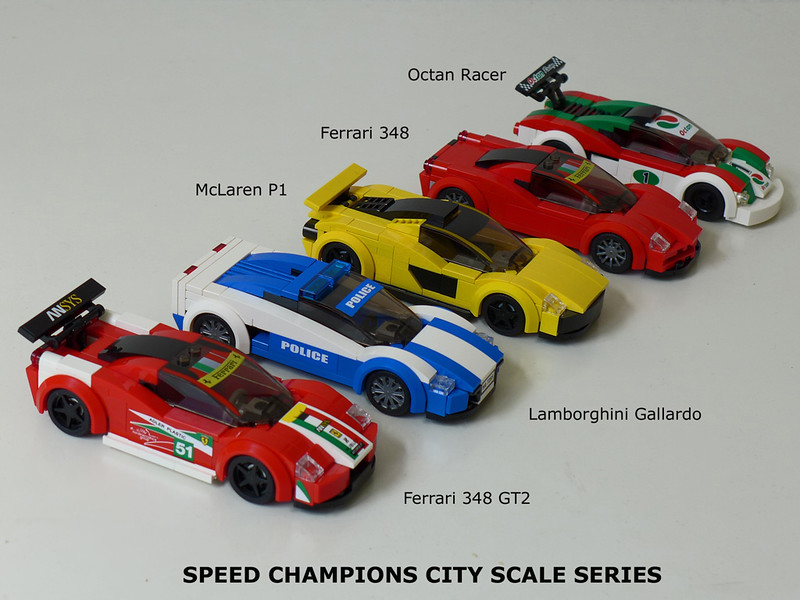 Speed Champions Alternates - LEGO Town - Eurobricks Forums