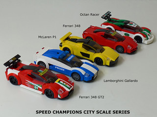 Speed Champions City Scale Series