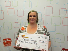 Melissa Shirley - $3,002 Hot Lotto Sizzler