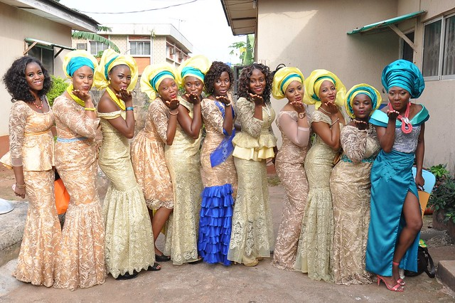 asoebi girls