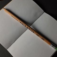 Memo Book and Pencil