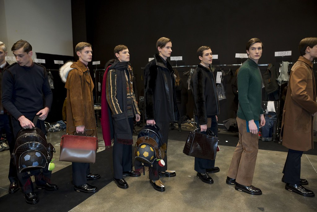 FW15 Milan Fendi256_Harvey, Janis, Christopher, Frederik, Florian Luger, Charlie Timms(fashionising.com)