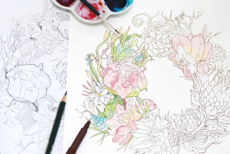Flowers, process