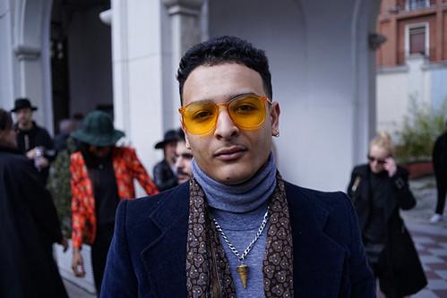 Faces of Milan fashion week