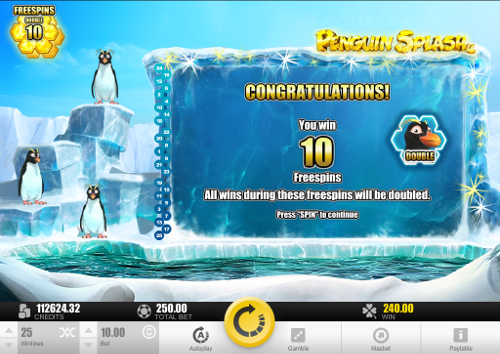 Penguin Splash Bonus Feature