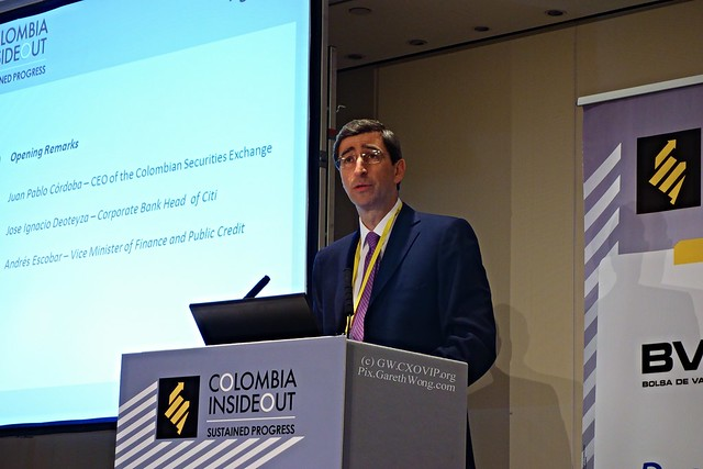 Juan Pablo Córdoba, CEO of Colombian Securities Exchange at ColombiaInsideOut from RAW_DSC9276