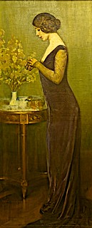 Know that/According to the love you feel/The Spirit shall you perceive (1910) - Adriano de Sousa Lopes (1879 - 1944)