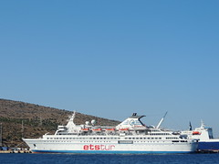 ETS cruise ship 'Delphin', Çeşme, Turkey