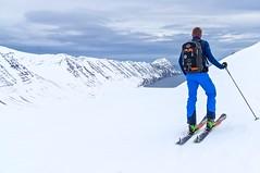 Skitouren auf Island.